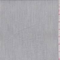 Slate Pinstripe Cotton Lawn