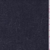 *2 1/2 YD PC--Dark Denim Blue Polyester Sweater Knit