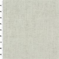 *3/4 YD PC--Silver/Ivory Designer Gaga Linen Metallic Home Decorating Fabric