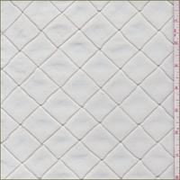 *1 1/2 YD PC--Antique White Pintuck Taffeta