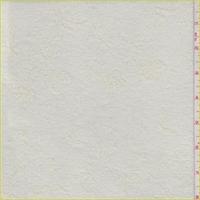 *1 1/2 YD PC--Antique Ivory Floral Crepe Knit
