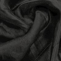 *3 1/4 YD PC--Tuxedo Black Organza Gauze