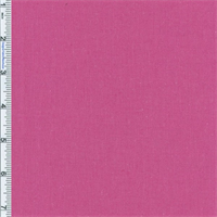 *2 3/8 YD PC--Bright Pink 6 oz Linen Blend