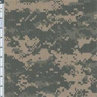 *1 YD PC--Fatigue DWR Camouflage Print