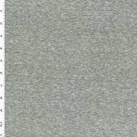 *1 YD PC--Heather Gray Slub Jersey Knit