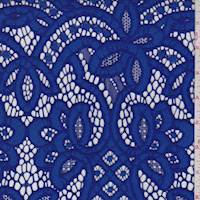 *2 5/8 YD PC--Larkspur Blue Baroque Lace
