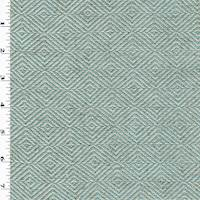 *5 YD PC--Blue/Gray Diamond Woven Home Decorating Fabric