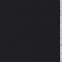 *2 5/8 YD PC--Onyx Black Twilled Shirting