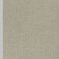 *2 YD PC--Natural Brown Linen Slub Woven Decorating Fabric