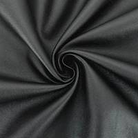 *1 1/4 YD PC--Black Embossed Faux Leather