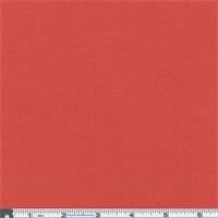 *2 YD PC--Orangy-coral 1 X 1 Rib Knit
