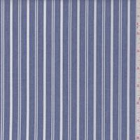 *3 YD PC--Dark Blue Stripe Shirting