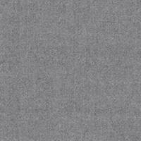 *2 1/4 YD PC--Heather Grey Wool Suiting