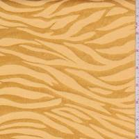 Deep Gold Zebra Stripe Satin Jacquard