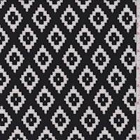 Black/White Southwest Diamond Liverpool Knit