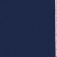*3 7/8 YD PC--Deep Blue Polyester Crepe