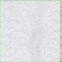 *1 1/8 YD PC----White Nylon Lace