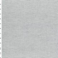*4 YD PC--Black/White Rib Cotton Stretch Shirting