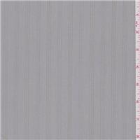 *4 1/2 YD PC--Sterling Grey Stripe Microfiber