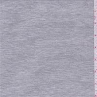 *2 YD PC--Heather Grey Stripe Jersey Knit