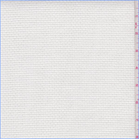 *5 YD PC--White Pique Weave Home Dec Canvas