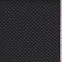 Black Patent Mini Diamond Quilted Faux Leather
