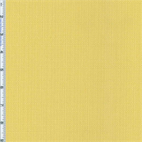 *1 YD PC--Soft Yellow Slub Woven Home Decorating Fabric
