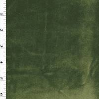 *1 YD PC--Forest Green Velvet Home Decorating Fabric