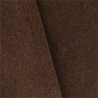 *4 YD PC--Maroon/Gray JB Martin Chevron Velvet Home Decorating Fabric