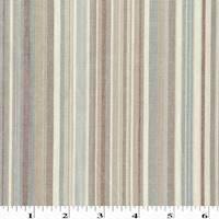 *2 1/2 YD PC--Beige/Blue/Multi Cotton Stripe Home Decorating Fabric