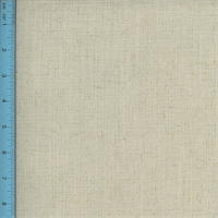 *2 1/2 YD PC--Linen Blend Woven Tweed Maison Cream Ivory Home Decorating Fabric