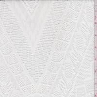 *4 YD PC--White Diamond Lace