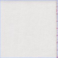 *1 YD PC--White Pique Weave Home Dec Canvas