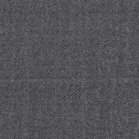 *4 1/2 YD PC--Black/Off White Herringbone Wool Suiting