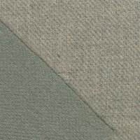 *5 3/4 YD PC--Moss Green/Tan Double Sided Texture Wool