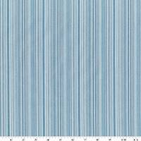 *1 YD PC--Blue/White/Multi Cotton Stripe Home Decorating Fabric