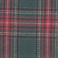 *3 1/2 YD PC--Red/Green Tartan Plaid Wool