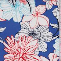 Wedgewood Floral Activewear/Swimwear