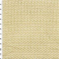 *1 1/2 YD PC--Designer Ecru Beige Newport Beach Chenille Decorating Fabric