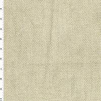 *3 3/4 YD PC--Whipped Pastry Beige Textured Chenille Dobby Decor Fabric