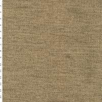 *2 1/4 YD PC--Green/Dark Gray Basket Weave Home Decorating Fabric