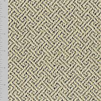 *5 YD PC--Beige/Deep Blue Textured Greek Key Home Decorating Fabric