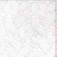 *4 YD PC--Off White Floral Lace