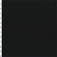 *4 YD PC--Black Wool Twill