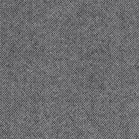 *2 3/8 YD PC--Black/White Woven Wool Suiting