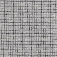 *3 1/2 YD PC--Gray/Black Checked Woven Wool Suiting