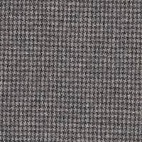 *2 1/8 YD PC--Black/Mocha Tan Houndstooth Wool Suiting