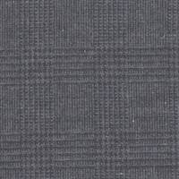 *2 1/2 YD PC--Black/Blue Plaid Wool Suiting