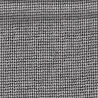 *2 7/8 YD PC--Black/White Houndstooth Wool Suiting