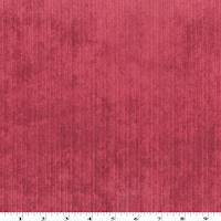 *2 YD PC--Ruby Red Chenille Rib Faux Velvet Home Decorating Fabric